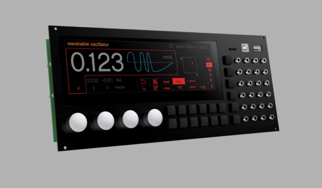 Percussa's SSP has the power of 10 digital Eurorack modules