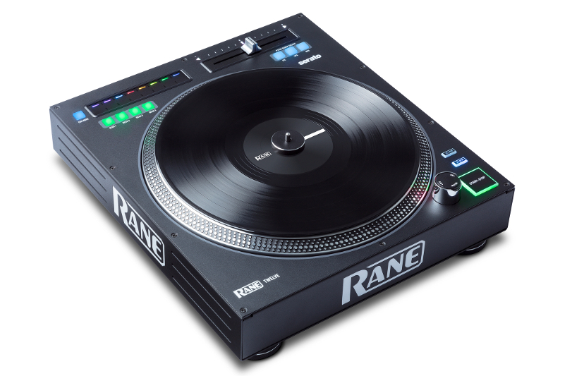 Rane's new DJ media player is designed to look like a turntable