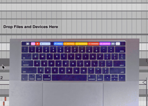 Ableton Live Touch Bar app