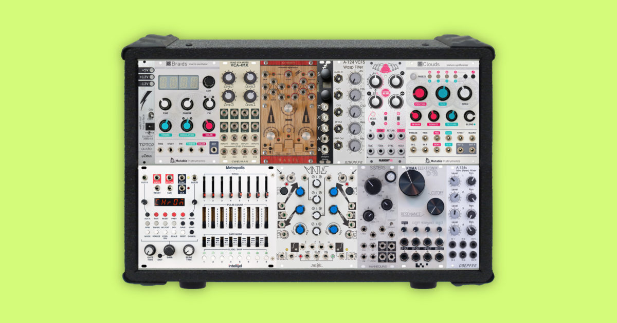 How to build a modular synth the ultimate eurorack buyers guide fandeluxe Choice Image