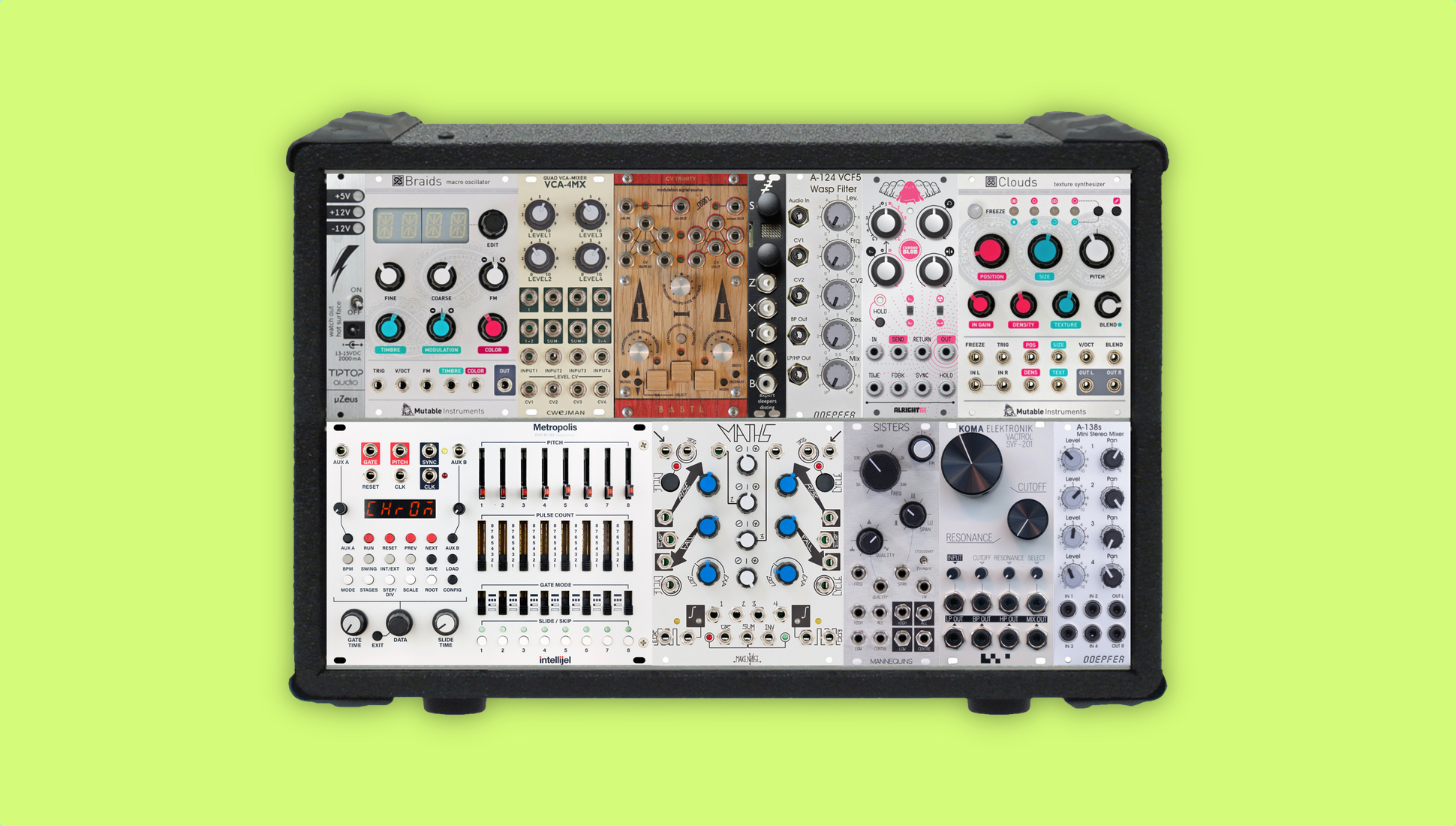 How To Build A Modular Synth The Ultimate Eurorack Buyers Guide Basic Electronics Electronic Circuits
