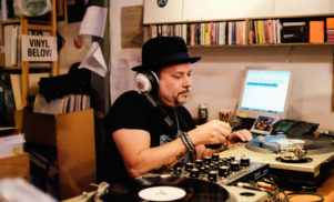 Watch Louie Vega's packed Phonica Records in-store