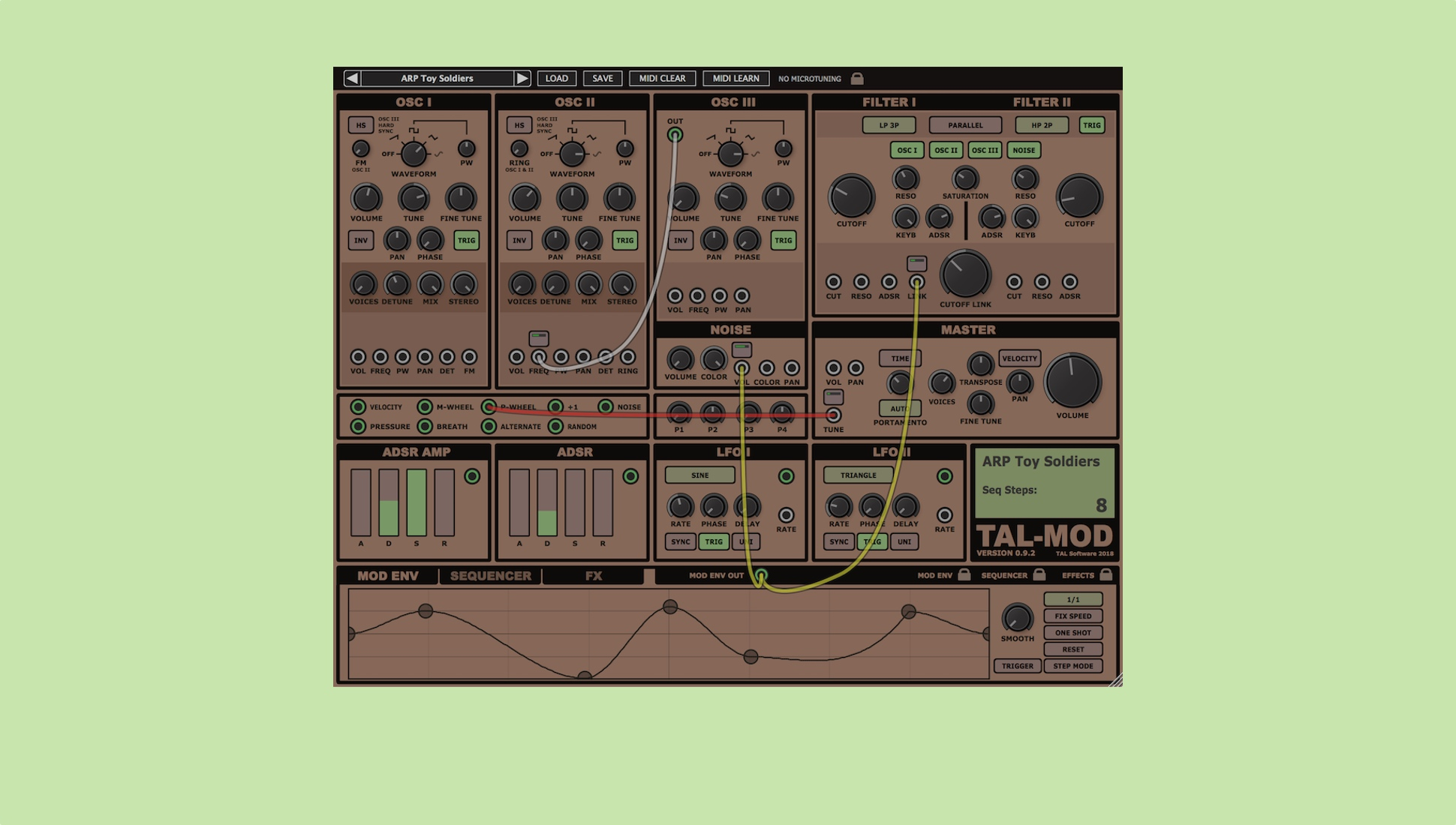 Tal Releases Beta Version Of New Modular Soft Synth Mod Mono To Stereo Synthesizer According The Is Able Create Everything From Classic Rich Leads Effects And Pads Making Use Virtual Patch Cables