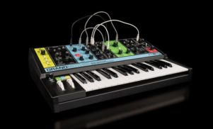 Moog reveals Grandmother, a retro-styled semi-modular analog synth
