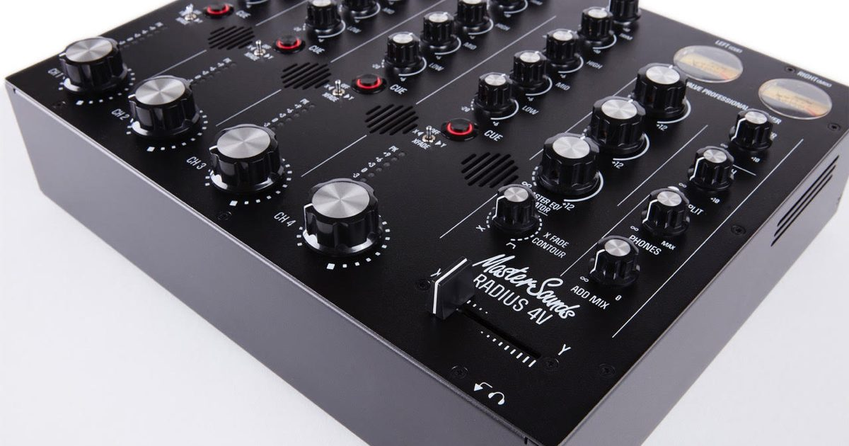 Mastersounds Launches New Flagship Rotary Mixer Radius 4v