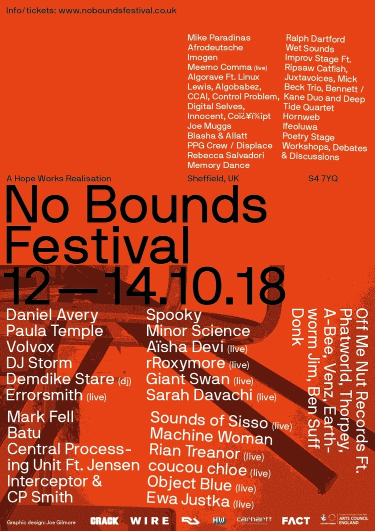Sheffield's No Bounds Festival expands program for 2018