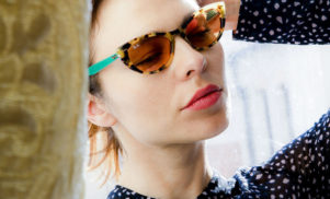 Nina Kraviz designs collection for Ray-Ban