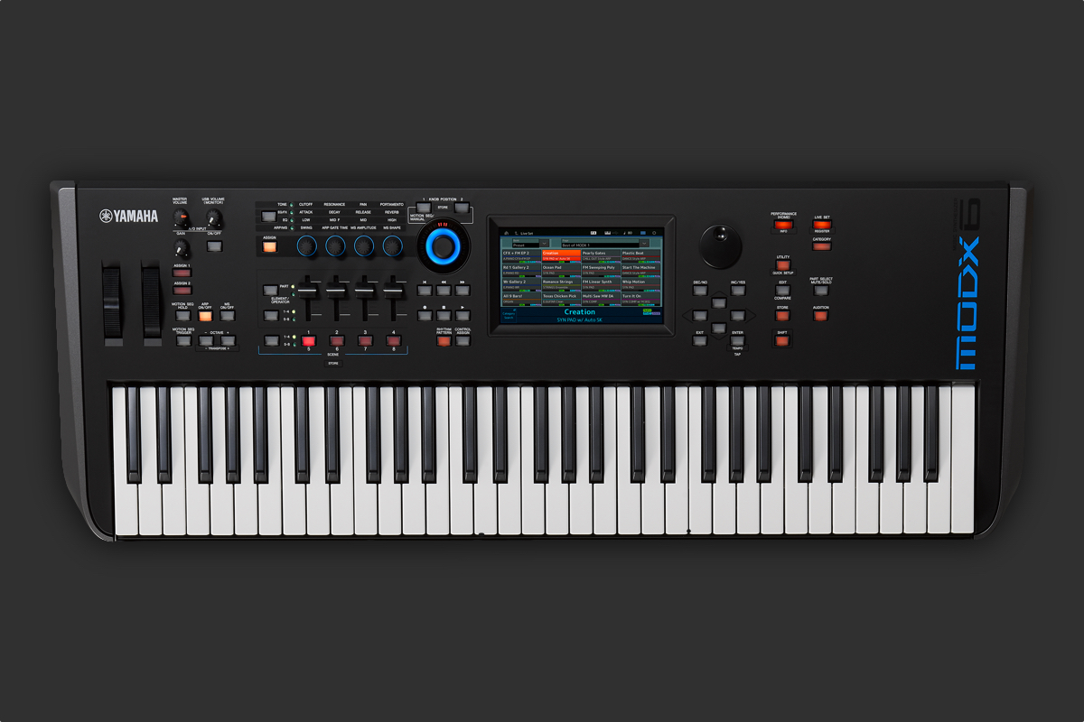 Yamaha's new MODX brings the FM synthesizer into the modern era