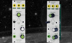 Tiptop Audio's new Forbidden Planet module is a sci-fi filter for Eurorack