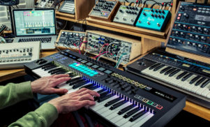 Novation's new SL MkIII MIDI keyboard does internal sequencing and CV