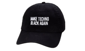 Make Techno Black Again celebrates Detroit with specially-designed hat and mix