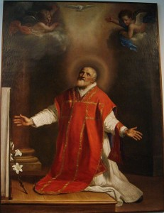 """Saint Philip Neri"" by Guercino (Giovanni Francesco Barbieri), 1656 [National Museum of San Marino]"