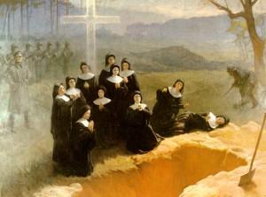 """Eleven Nuns of Nowogrodek"" by Adam Styka, 1948"