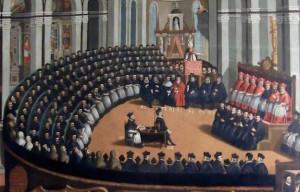 """""""Council of Trent"""" [Museo del Palazzo del Buonconsiglio, Trento]"""