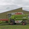 Claas Commandor 114 CS Header with 30' front and 12' pickup front