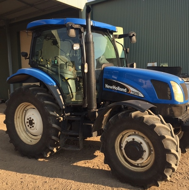 4x4 Tractor Axle : Newholland ts a cab front axle suspension farm