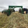 Oaten hay - just baled - rolls