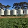 7 x 40t Grain silos For Sale