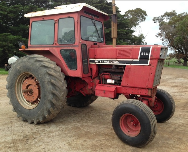 International 866 Tractor For Sale Machinery Amp Equipment