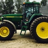 7710 John Deere Tractor With Front Wheel Assist.