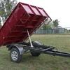 Demonsration trailer  2 tonne tipping trailer  road registered.