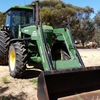 4055 John Deere  Front End Loader With FWA.