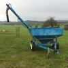 Grain feeder trailer w/Auger