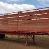 45ft Barker Trailer With Lyten Floor & Single Deck Lowan steel Cattle Crate 3/4 Gates.