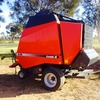 Case 628 Round Baler with netwrap - Machinery & Equipment