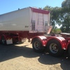 2011 Model Triad 22FT Steel Tipping Bulk A Trailer For Sale - Air Bag- Tri Axle