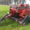 Case small square baler + 15 bale Jadan accumulator and Grab