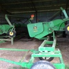 2 x 914 John Deere 60 Series Canola Pickup Fronts w Trailers