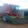 CASE 2388 Rice Special 4WD Header For Sale with 21FT  Honey Bee Draper Front & Corn Front