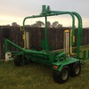Agronic Twin Satellite Bale Wrapper For Sale