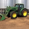 John Deere 6820 Premium with JD Level Lift Loader