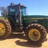 John Deere 8100 MFWD Tractor - Good Unit