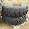 2 x 14 x 24 Grader tyres & rims - Machinery & Equipment