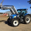 New Holland T6030 with Quicke Front End Loader