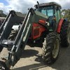 Massey Ferguson 4270 6cly 110 hp loader 4in 1 bucket