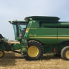 9670 John Deere Header  With 36ft Front.