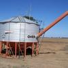 Zincalume Sherwell 28 ton PTO Field Bin.  36 cubic metre. Excellent Condition.