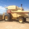 New Holland TR 85 Header with 30ft Front - Machinery & Equipment