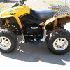 CAN-AM RENEGADE 500 4X4 QUAD BIKE(314 HOURS)YELLOW.