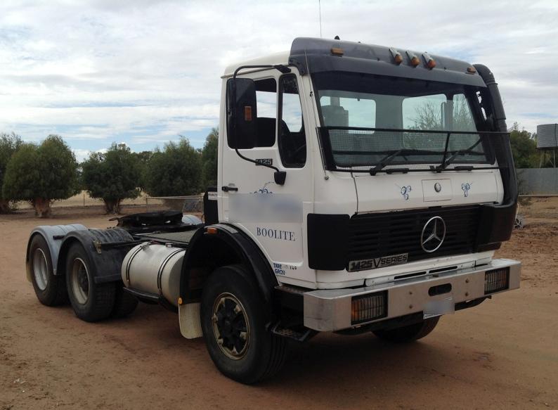 Mercedes benz prime mover 1425 for sale trucks farm for Mercedes benz pickup truck for sale