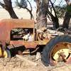 Vintage Newman 3 wheeled Diesel Garden Tractor in Running Condition.  Shedded.