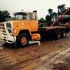Ford Louie crane truck