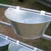 Paton Galvanised Fence Mounted Feeders/Drinkers Sm - Livestock Equipment