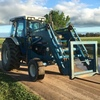 Ford 7810 with Kerfab FEL, Forks & Bucket 105 Hp