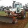 Case 970 with Heavy Duty Blade and Bucket