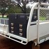 Dual cab ute tray